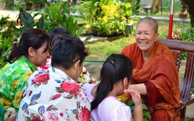 Female Buddha Monk